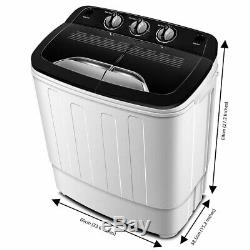 Portable Washing Machine with Wash and Spin Cycles by Think Gizmos TG23