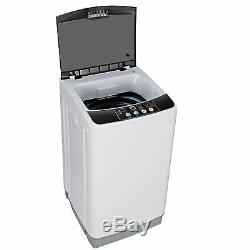 Powerful Washing Machine Full-Automatic Compact Laundry Washer 8 Lbs 6 Programs