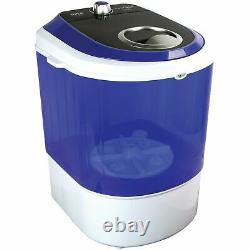 Pyle Compact & Portable Washing Machine with Mini Laundry Clothes Washer White
