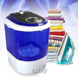 Pyle PUCWM11 Compact & Portable Washing Machine Mini Laundry Clothes Washer