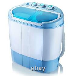 Pyle PUCWM22 2 in 1 Portable Compact Mini Top Load Washing Machine & Spin Dryer