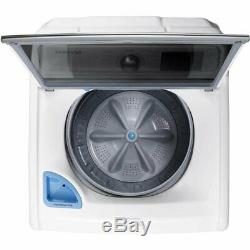 Samsung WA45M7050AW 4.5-cu ft High-Efficiency Top-Load Washer White ENERGY STAR