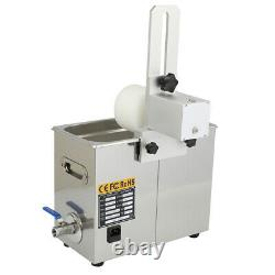 USED 6L Ultrasonic Vinyl Record Cleaner Cleaning Washing Machine + Drying Rack