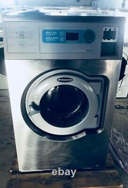 W620CC Wascomat Coin or Card Operated Solid Mount Washing Machine, Used