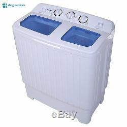 Washing Machine Cleaner And Dryer Combo Portable Small Compact Mini Washer 12lbs