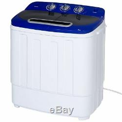 Washing Machine Spin Dryer Portable Laundry Combo Compact Mini Twin Tub Load