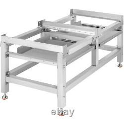 Washing Machine Stand Laundry Pedestal for Washer Dryer 590LBS with Shelf 48x25 in