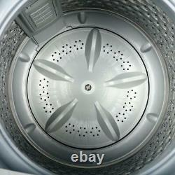 Zokop Full-Automatic Washing Machine Portable Compact 10LBS Laundry Washer Spin